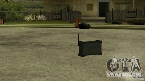 Flash of the CoD MW2 for GTA San Andreas third screenshot