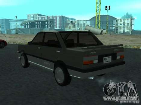 Nissan Sanny 1500 (B12) for GTA San Andreas left view