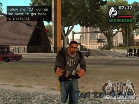 3 skin replacement Cj for GTA San Andreas second screenshot