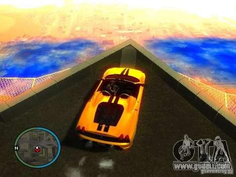 Ferrari F430 Scuderia M16 2008 for GTA San Andreas engine