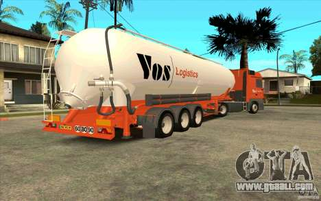 Trailer for Mercedes-Benz Actros for GTA San Andreas