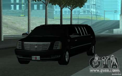 Cadillac Escalade 2008 Limo for GTA San Andreas side view