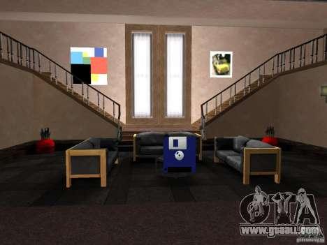 Secret apartment for GTA San Andreas third screenshot