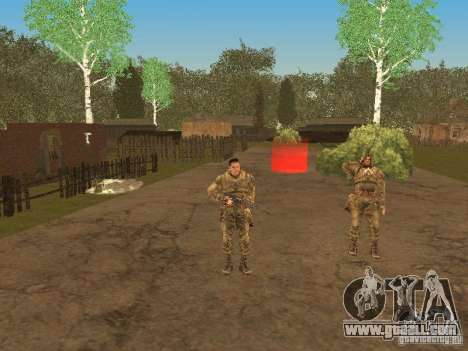 Degtyarev of Stalker for GTA San Andreas seventh screenshot