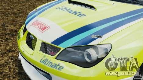 Subaru Impreza WRX STI N12 for GTA 4 side view