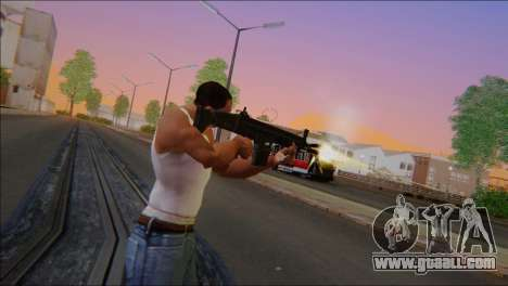 SCAR - H for GTA San Andreas second screenshot