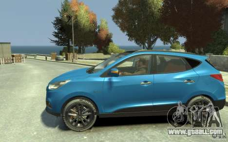 Hyundai IX35 2010 Beta for GTA 4 left view