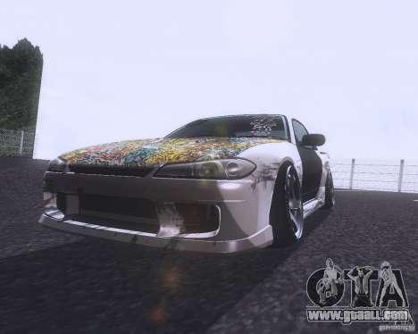 Nissan Silvia S15 Street for GTA San Andreas