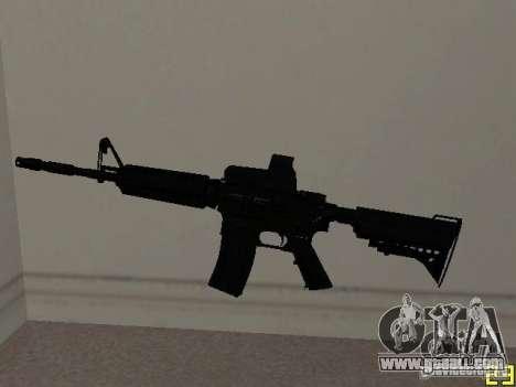 M4 MOD v2 for GTA San Andreas