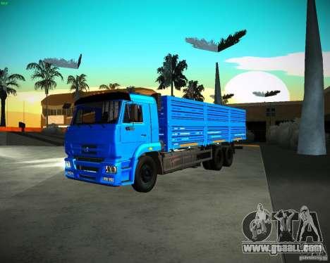 KAMAZ 65117 Grain for GTA San Andreas