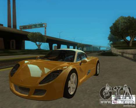 Ginetta F400 for GTA San Andreas right view