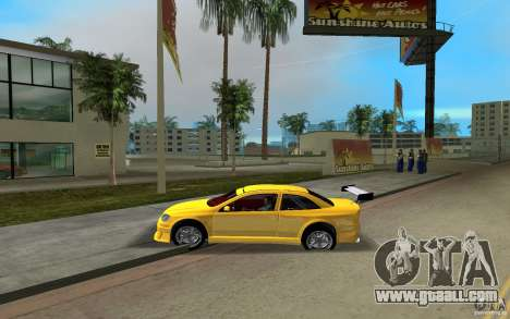 Opel Astra Coupe for GTA Vice City back left view
