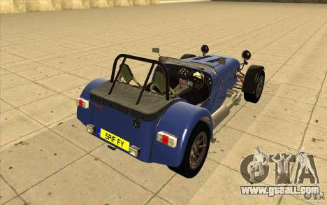Caterham Superlight R500 for GTA San Andreas side view