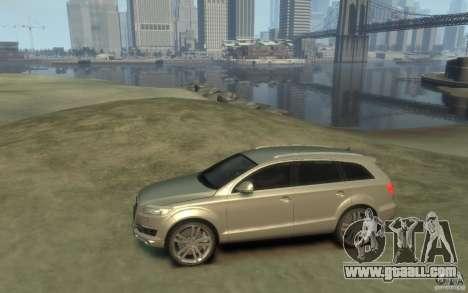 Audi Q7 for GTA 4 left view