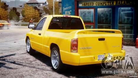 Dodge Ram SRT-10 2003 1.0 for GTA 4 side view