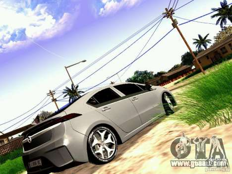 Opel Ampera for GTA San Andreas left view