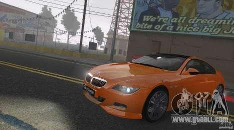 BMW M6 Hurricane RR for GTA 4 inner view
