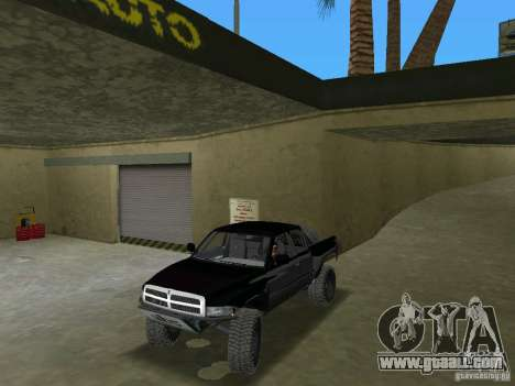 Dodge Ram Prerunner for GTA Vice City right view