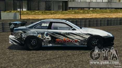 Toyota Soarer Drift for GTA 4 left view