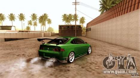 Acura RSX Spoon Sports for GTA San Andreas bottom view