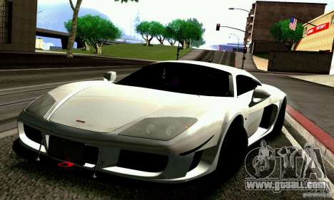 Noble M600 for GTA San Andreas wheels