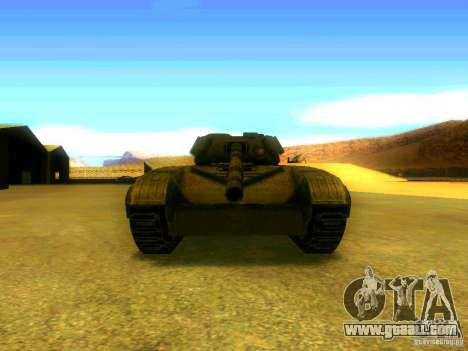 Tank game S. T. A. L. k. e. R for GTA San Andreas back view