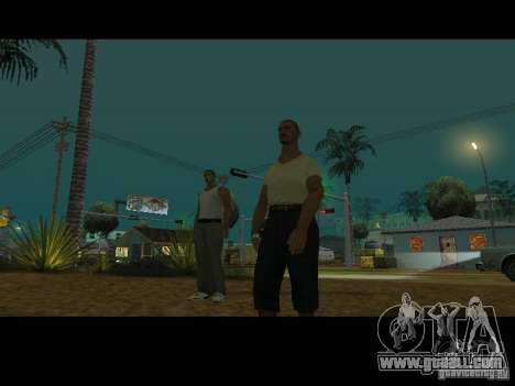 Varrio Los Aztecas for GTA San Andreas eighth screenshot