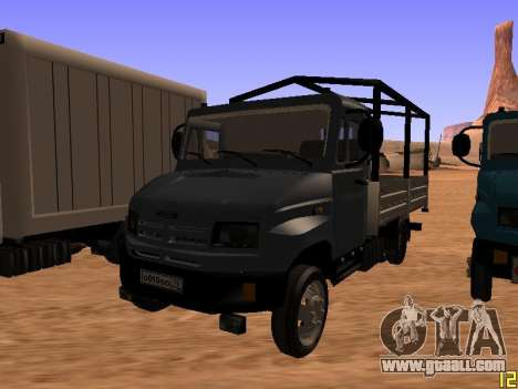 ZIL 5301 Goby for GTA San Andreas right view