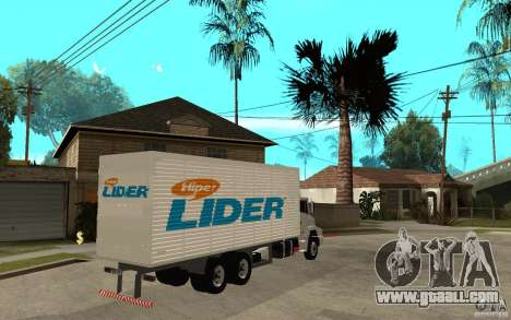 Camiun Hiper Lider for GTA San Andreas right view