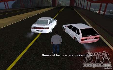 Remote lock car v3.6 for GTA San Andreas forth screenshot