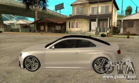 Audi S5 Quattro Tuning for GTA San Andreas left view
