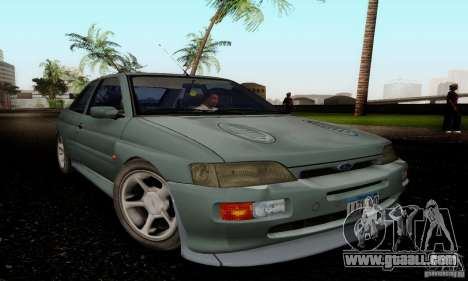 Ford Escort RS Cosworth for GTA San Andreas right view