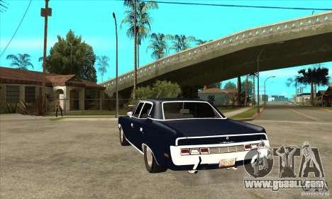 AMC Rambler Matador 1971 for GTA San Andreas back left view