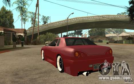 Elegy Modified for GTA San Andreas back left view