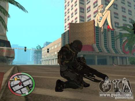 Alien weapons of Crysis 2 for GTA San Andreas forth screenshot