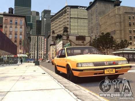 Oldsmobile Cutlass Ciera 1993 for GTA 4 back left view