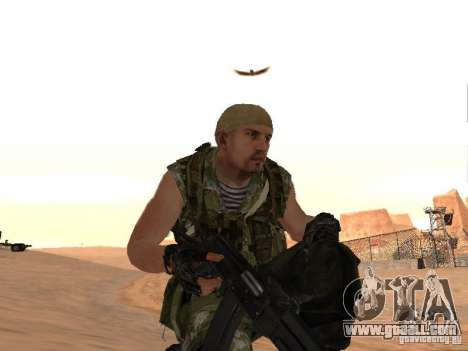 Russian Commando for GTA San Andreas seventh screenshot