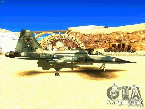 F-5E Tiger for GTA San Andreas right view