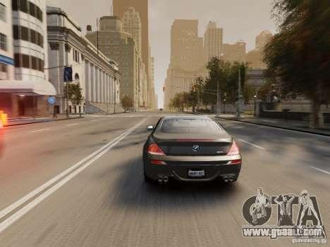 BMW M6 2010 for GTA 4 engine
