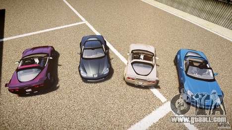 Chevrolet Corvette Z06 1.2 for GTA 4 interior