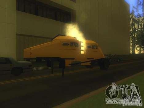 Mukovoz K4-AMG trailer for GTA San Andreas left view