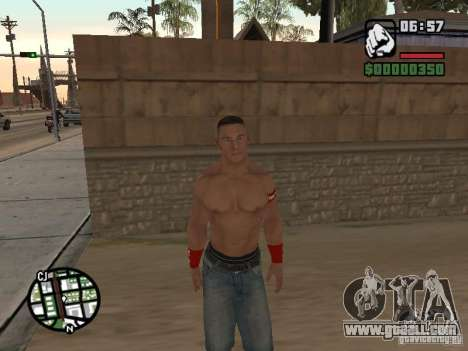 John Cena for GTA San Andreas