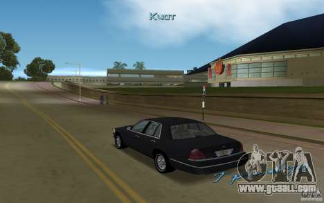 Ford Crown Victoria for GTA Vice City right view