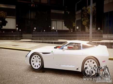 Alfa Romeo TZ3 Stradale Zagato for GTA 4 left view