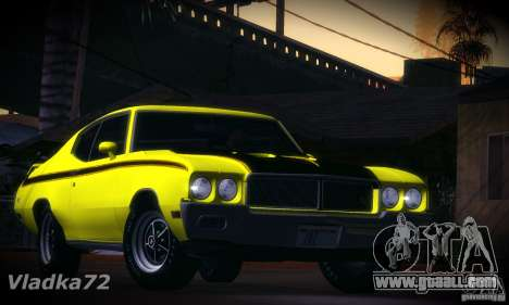 Buick GSX 1970 v1.0 for GTA San Andreas left view