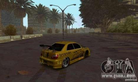 NFS Most Wanted - Paradise for GTA San Andreas third screenshot