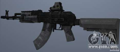AK47+Holographic sight for GTA San Andreas second screenshot