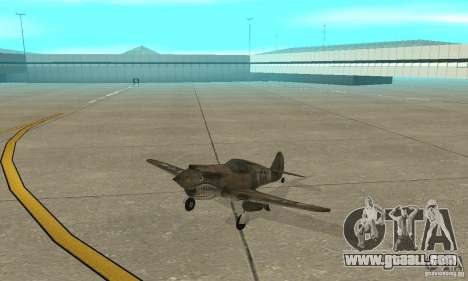 P-35 for GTA San Andreas left view