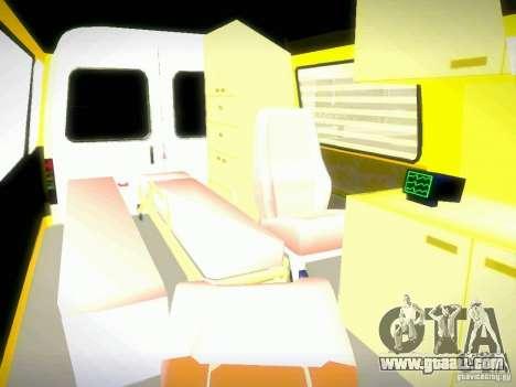 Gazelle 2705 BAKU AMBULANS for GTA San Andreas side view