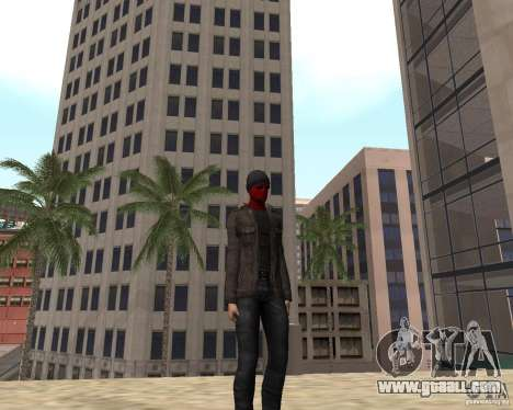 Spider Man for GTA San Andreas forth screenshot